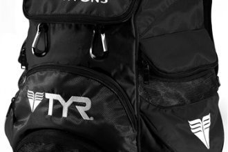 Team Bag TYR Alliance Backpack in Black with Logo