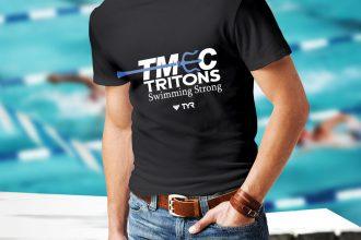 TMEC Men Team Shirt in Black