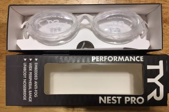 TYR Nest Pro Performance Women's Cut Goggles (Clear)