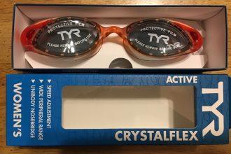 TYR Crystalflex Women's Cut Goggles (Tinted)